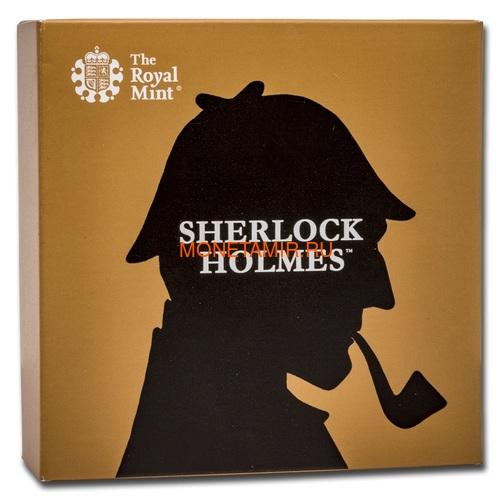 Великобритания 50 пенсов 2019 Шерлок Холмс (UK 50 pence 2019 Sherlock Holmes Proof Silver Coin).Арт.000416057339/65 (фото, вид 4)
