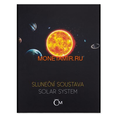 Ниуэ 1 доллар 2019 Солнечная Система Солнце (Niue 1$ 2019 Solar System Sun 1Oz Silver Coin).Арт.CZ/67 (фото, вид 5)