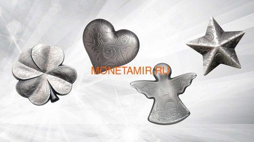 Палау 5 долларов 2018 Мерцающая Звезда (Palau 5$ 2018 Twinkling Star 1 oz Silver Coin).Арт.65 (фото, вид 8)