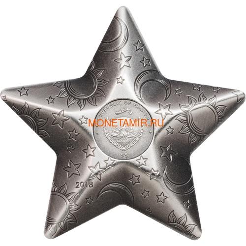 Палау 5 долларов 2018 Мерцающая Звезда (Palau 5$ 2018 Twinkling Star 1 oz Silver Coin).Арт.65 (фото, вид 3)
