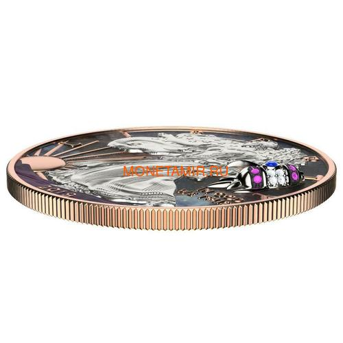 Соединенные Штаты Америки 1 доллар 2019 Космическая Ракета Свобода (2019 USA 1$ Liberty Space Rocket 1oz Silver Coin).Арт.65 (фото, вид 2)