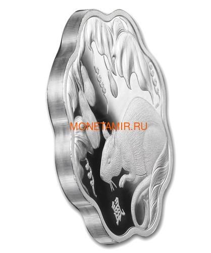 Канада 15 долларов 2020 Год Крысы Лунный Календарь серия Лотос (Canada 15$ 2020 Year of the Rat Lunar Lotus Silver Coin Proof).Арт.000450657572/65 (фото, вид 1)