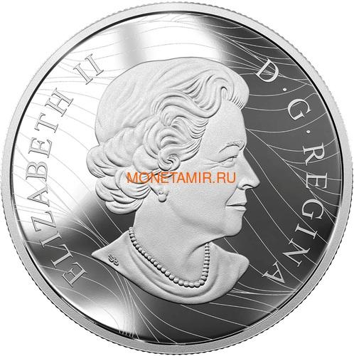 Канада 30 долларов 2017 Волк (Canada 30$ 2017 Wolf 2 oz Silver Coin).Арт.000703854364/60 (фото, вид 2)