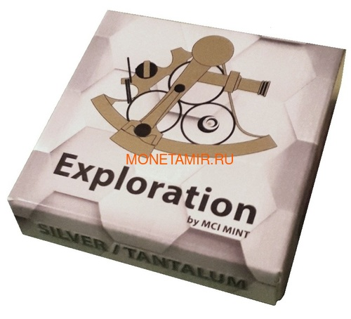 Гана 5 седи 2017 Исследования Космос Формула Эйнштейна Телескоп Биметалл (Ghana 5 cedis 2017 Exploration I Space Travel Silver Tantal Coin).Арт.000484654920/65 (фото, вид 3)