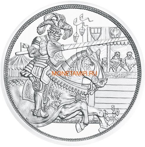 Австрия 10 евро 2019 Благородство серия Рыцарские Истории (Austria 10E 2019 Chivalry Knights' Tales Silver Coin).Арт.65 (фото, вид 1)