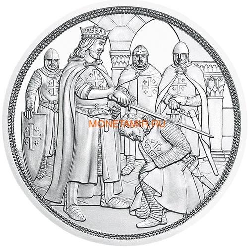 Австрия 10 евро 2019 Приключение серия Рыцарские Истории (Austria 10E 2019 Adventure Knights' Tales Silver Coin).Арт.65 (фото, вид 1)