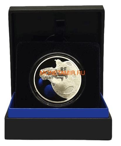 Франция 50 евро 2019 Первый Шаг на Луну 50 лет Космос (France 50E 2019 First Step on the Moon 50th Anniversary Silver Coin).Арт.002615457876/67 (фото, вид 2)
