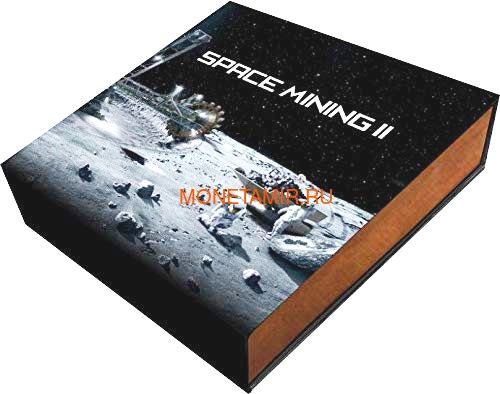 Ниуэ 1 доллар 2019 Космическая Добывающая Станция II Метеорит (Niue 1$ 2019 Space Mining Station II 1Oz Silver Coin).Арт.000712957851/65 (фото, вид 5)