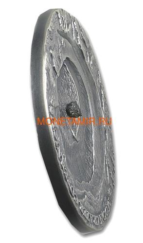 Ниуэ 1 доллар 2019 Лунный Кратер Коперник Метеорит NWA 8609 Кратеры Вселенной (Niue 1$ 2019 Copernicus Moon Meteorite NWA 8609 Universal Craters 1Oz Silver Coin).Арт.000792257849/65 (фото, вид 1)