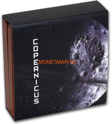 Ниуэ 1 доллар 2019 Лунный Кратер Коперник Метеорит NWA 8609 Кратеры Вселенной (Niue 1$ 2019 Copernicus Moon Meteorite NWA 8609 Universal Craters 1Oz Silver Coin).Арт.000792257849/65 (фото, вид 5)