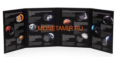 Ниуэ 1 доллар 2019 Солнечная Система Луна (Niue 1$ 2019 Solar System Moon 1Oz Silver Coin).Арт.CZ/67 (фото, вид 8)