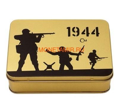 Ниуэ 4х25 долларов 2019 Великая Отечественная Война 1944 Битва Монте-Кассино Операция Оверлорд Операция Маркет Гарден Битва Лейте (Niue 4х25$ 2019 Set Gold Coins War 1944 Battle of Monte Cassino Operation Overlord Operation Market Garden Battle of Leyte). (фото, вид 7)