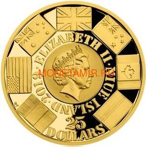 Ниуэ 4х25 долларов 2019 Великая Отечественная Война 1944 Битва Монте-Кассино Операция Оверлорд Операция Маркет Гарден Битва Лейте (Niue 4х25$ 2019 Set Gold Coins War 1944 Battle of Monte Cassino Operation Overlord Operation Market Garden Battle of Leyte). (фото, вид 5)