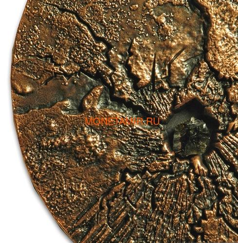 Ниуэ 5 долларов 2018 Метеорит Фукан Мир Метеоритов Космос (Niue 5$ 2018 Meteorite Fukang Space 2Oz Silver Coin).Арт.001188257843/65 (фото, вид 2)