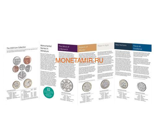 Великобритания Полный Годовой Набор 2020 (The 2020 UK Brilliant Uncirculated Annual Coin Set).Арт.65 (фото, вид 2)
