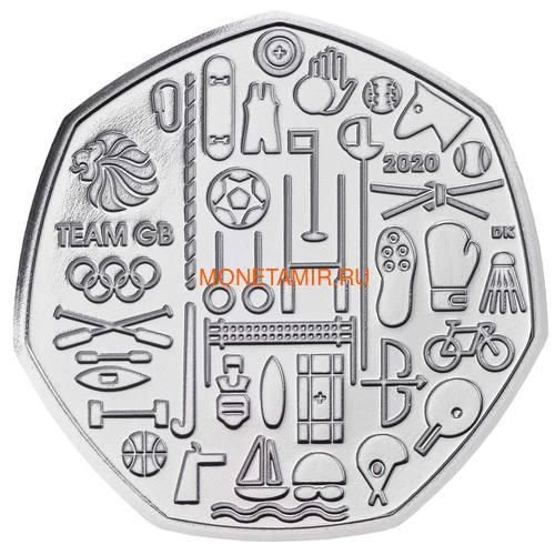 Великобритания Полный Годовой Набор 2020 (The 2020 UK Brilliant Uncirculated Annual Coin Set).Арт.65 (фото, вид 3)
