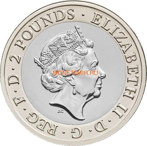 Великобритания Полный Годовой Набор 2020 (The 2020 UK Brilliant Uncirculated Annual Coin Set).Арт.65 (фото, вид 8)