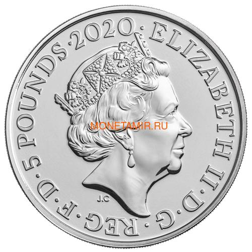 Великобритания Полный Годовой Набор 2020 (The 2020 UK Brilliant Uncirculated Annual Coin Set).Арт.65 (фото, вид 12)