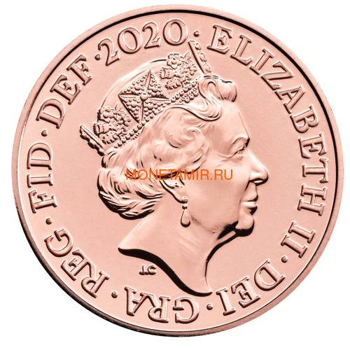 Великобритания Полный Годовой Набор 2020 (The 2020 UK Brilliant Uncirculated Annual Coin Set).Арт.65 (фото, вид 14)