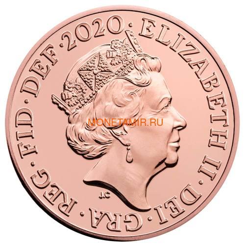 Великобритания Полный Годовой Набор 2020 (The 2020 UK Brilliant Uncirculated Annual Coin Set).Арт.65 (фото, вид 16)