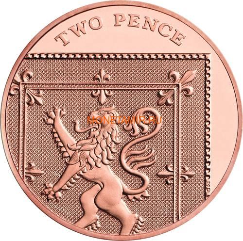 Великобритания Полный Годовой Набор 2020 (The 2020 UK Brilliant Uncirculated Annual Coin Set).Арт.65 (фото, вид 15)