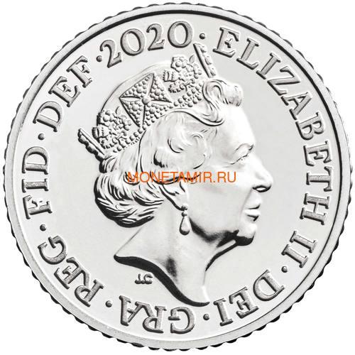 Великобритания Полный Годовой Набор 2020 (The 2020 UK Brilliant Uncirculated Annual Coin Set).Арт.65 (фото, вид 18)