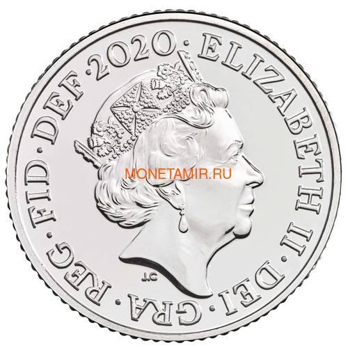 Великобритания Полный Годовой Набор 2020 (The 2020 UK Brilliant Uncirculated Annual Coin Set).Арт.65 (фото, вид 20)