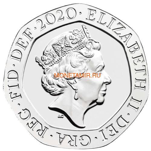 Великобритания Полный Годовой Набор 2020 (The 2020 UK Brilliant Uncirculated Annual Coin Set).Арт.65 (фото, вид 22)