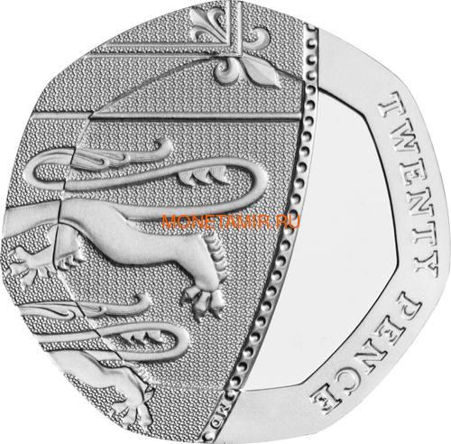 Великобритания Полный Годовой Набор 2020 (The 2020 UK Brilliant Uncirculated Annual Coin Set).Арт.65 (фото, вид 21)