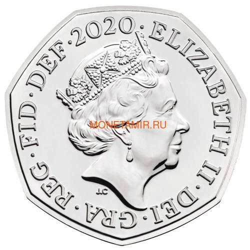 Великобритания Полный Годовой Набор 2020 (The 2020 UK Brilliant Uncirculated Annual Coin Set).Арт.65 (фото, вид 24)