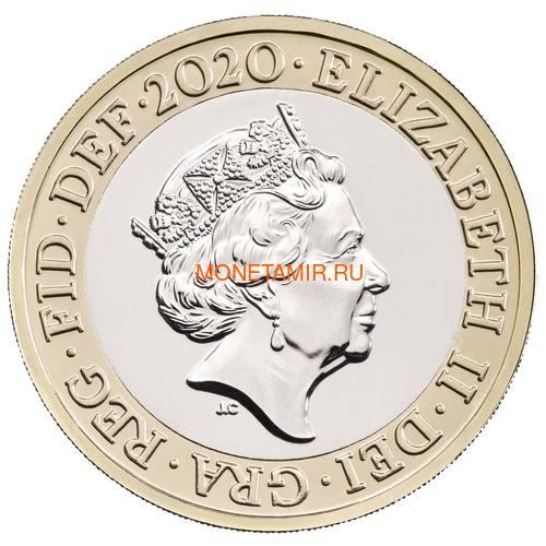 Великобритания Полный Годовой Набор 2020 (The 2020 UK Brilliant Uncirculated Annual Coin Set).Арт.65 (фото, вид 28)