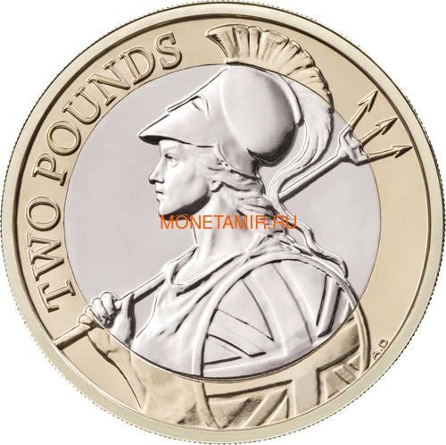 Великобритания Полный Годовой Набор 2020 (The 2020 UK Brilliant Uncirculated Annual Coin Set).Арт.65 (фото, вид 27)