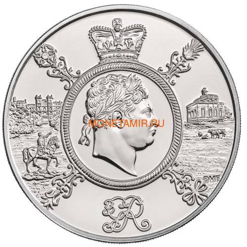 Великобритания 5 фунтов 2020 Король Георг III (GB 5£ 2020 A Celebration of the Reign of George III Brilliant Uncirculated Coin) Блистер.Арт.65 (фото, вид 1)