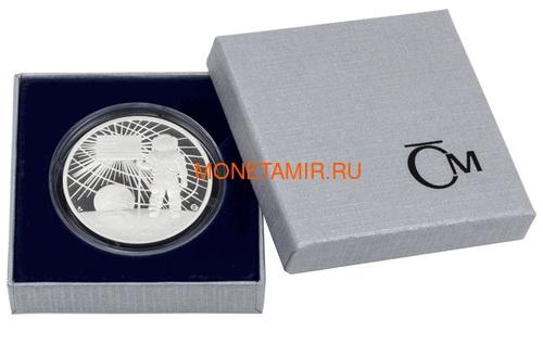 Ниуэ 2 доллара 2019 Первый Человек на Луне Космос (Niue 2$ 2019 First Man on the Moon 1 oz Silver Coin).Арт.CZ/65 (фото, вид 4)
