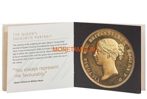 Великобритания 5 фунтов 2019 Уна и Лев (GB 5£ 2019 Una and the Lion 2oz Silver Proof Coin).Арт.001055857959/92 (фото, вид 3)