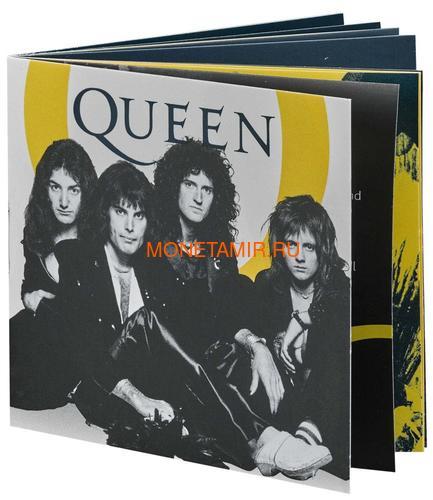 Великобритания 2 фунта 2020 Куин Легенды Музыки (GB 2£ 2020 Queen Music Legends 1oz Silver Proof Coin).Арт.92E (фото, вид 4)