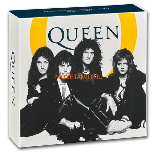 Великобритания 2 фунта 2020 Куин Легенды Музыки (GB 2£ 2020 Queen Music Legends 1oz Silver Proof Coin).Арт.92E (фото, вид 5)