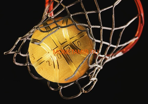 Самоа 5 долларов 2020 Баскетбол Мяч Шар (Samoa 5$ 2020 Basketball 3D 1 Oz Silver Coin Spherical).Арт.65 (фото, вид 6)