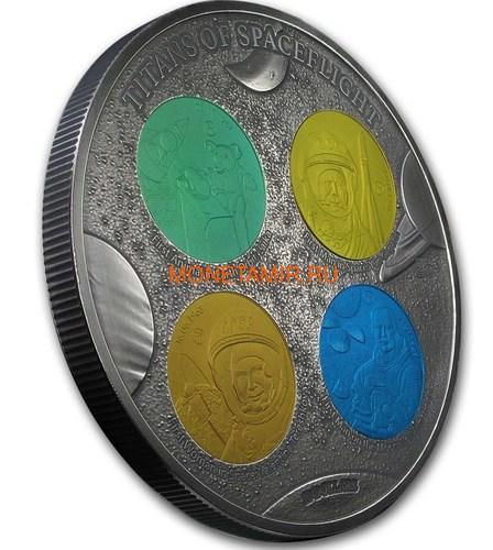 Фиджи 10 долларов 2019 Титаны Космических Полетов 0,5 Кило (Fiji 10$ 2019 Titans of Spaceflight 0,5 Kilo Silver Coin).Арт.Е85 (фото, вид 1)