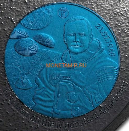 Фиджи 10 долларов 2019 Титаны Космических Полетов 0,5 Кило (Fiji 10$ 2019 Titans of Spaceflight 0,5 Kilo Silver Coin).Арт.Е85 (фото, вид 5)