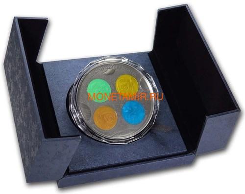 Фиджи 10 долларов 2019 Титаны Космических Полетов 0,5 Кило (Fiji 10$ 2019 Titans of Spaceflight 0,5 Kilo Silver Coin).Арт.Е85 (фото, вид 7)