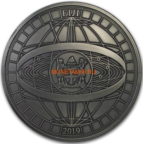 Фиджи 10 долларов 2019 Титаны Космических Полетов 0,5 Кило (Fiji 10$ 2019 Titans of Spaceflight 0,5 Kilo Silver Coin).Арт.Е85 (фото, вид 6)