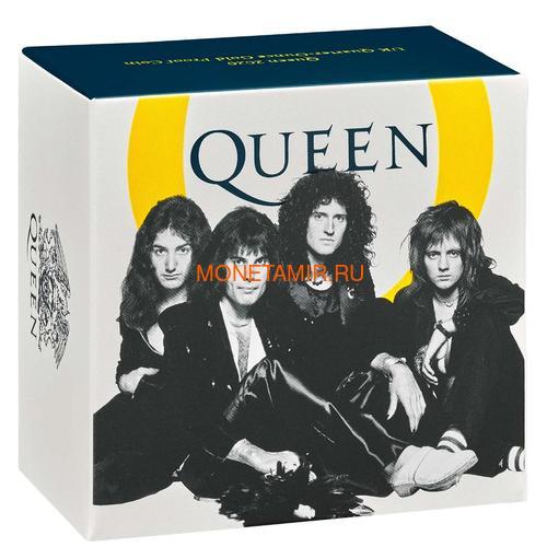 Великобритания 100 фунтов 2020 Куин Легенды Музыки (GB 100£ 2020 Queen Music Legends Gold Proof Coin).Арт.65 (фото, вид 3)