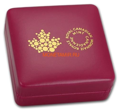 Канада 20 долларов 2017 Пчела серия Насекомые из Драгоценных Камней (Canada 20$ 2017 Bee Bejeweled Bugs Silver Coin).Арт.60 (фото, вид 5)