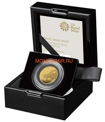 Великобритания 25 фунтов 2020 Джеймс Бонд (GB 25£ 2020 James Bond Gold Proof Coin).Арт.65 (фото, вид 2)