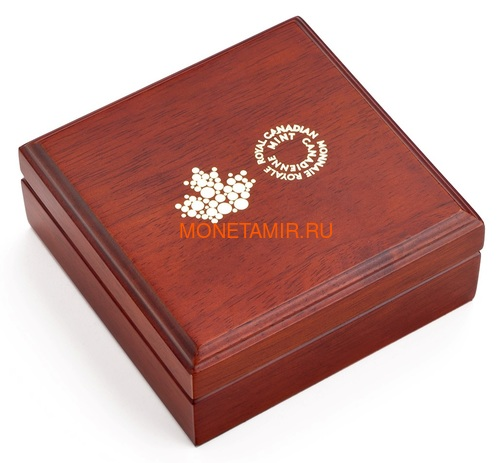 Канада 200 долларов 2020 Роза Королева Елизавета (Canada 200$ 2020 The Queen Elizabeth Rose 1 oz Gold Coin).Арт.85 (фото, вид 4)