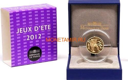 Франция 50 евро 2012 Дзюдо Олимпийские игры (France 50E 2012 Judo Olympic Games Gold Coin).Арт.90 (фото, вид 2)