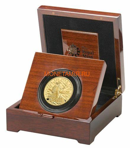 Великобритания 500 фунтов 2020 Британия (GB 500£ 2020 Britannia 5oz Gold Proof Coin).Арт.90 (фото, вид 2)