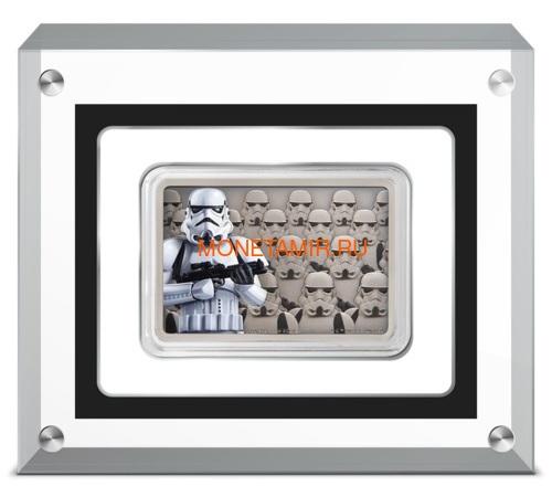 Ниуэ 2 доллара 2020 Звездные Войны Гвардия Империи Штурмовик (Niue 2$ 2020 Star Wars Guards Of The Empire Stormtrooper 1oz Silver Coin).Арт.92 (фото, вид 3)