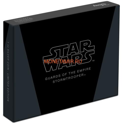 Ниуэ 2 доллара 2020 Звездные Войны Гвардия Империи Штурмовик (Niue 2$ 2020 Star Wars Guards Of The Empire Stormtrooper 1oz Silver Coin).Арт.92 (фото, вид 4)